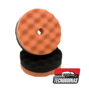 TECNOBOINAS – BOINA ESPUMA REFINO/LUSTRO 6″ ROTATIVA 14mm
